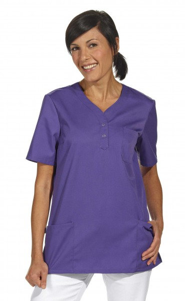 Leiber 08/1254 Damenschlupfjacke aus Mischgewebe, unifarben, Farbe lila