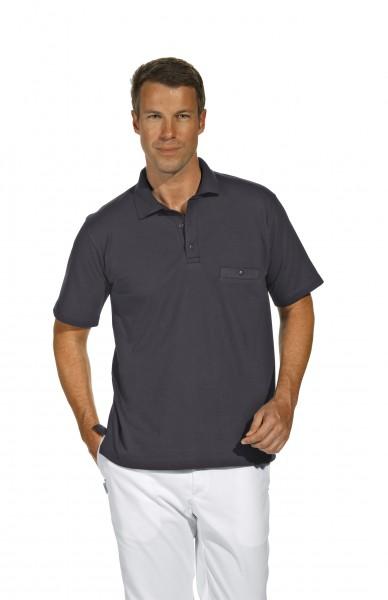 Poloshirt 08/241 von Leiber, für Sie&Ihn, Farbe grau