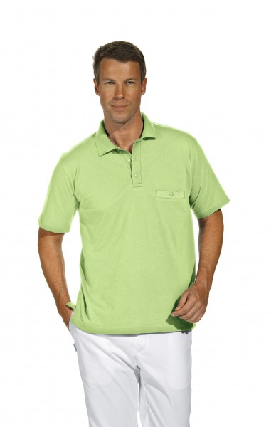 Poloshirt 08/241 von Leiber, für Sie&Ihn, Farbe limette