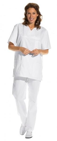 OP-Kasack Leiber 08/769 für Damen und Herren in Farbe weiß (sterilisierbar)