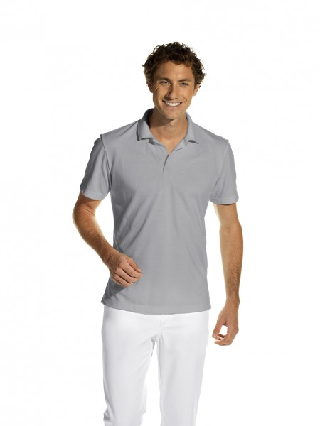 Poloshirt 08/2515 von Leiber, Unisex, Farbe silbergrau