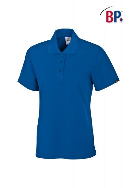BP Poloshirt 1648 181 110 für Damen in königsblau aus strapazierfähigem Mischgewebe