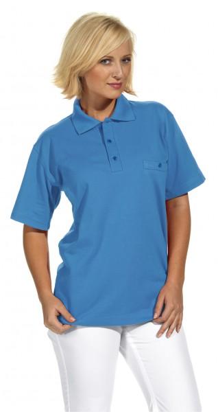 Poloshirt 08/241 von Leiber, für Sie&Ihn, Farbe türkis