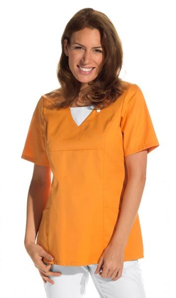 08/2517 Leiber Damenschlupfjacke (Kasack), Farbe orange