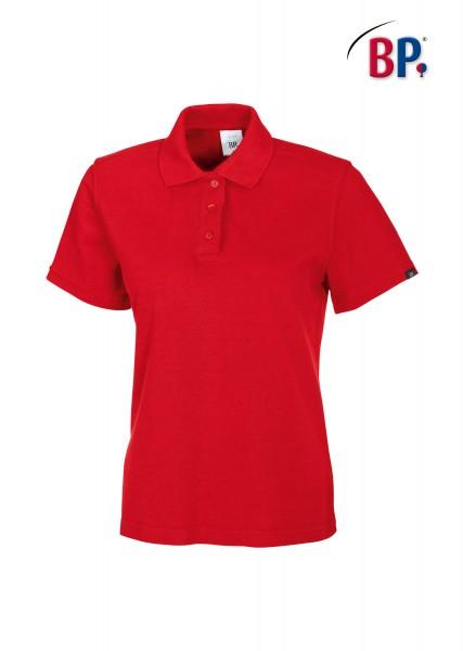 BP Poloshirt 1648 181 81 für Damen in rot aus strapazierfähigem Mischgewebe