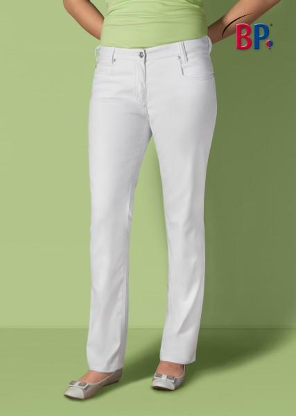 BP Jeans 1732 687 21 für Damen in weiß aus Mischgewebe mit Stretchkomfort