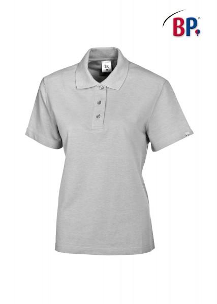 BP Poloshirt 1648 181 51 für Damen in hellgrau aus strapazierfähigem Mischgewebe