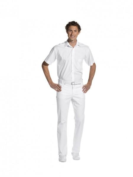 12/6820 Leiber, Moderne Herren-Jeans im Five-Pocket-Style, Farbe weiß