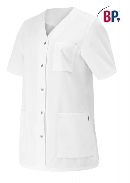 BP Kasack 1617 400 21 für Damen in weiß aus strapazierfähigem Mischgewebe