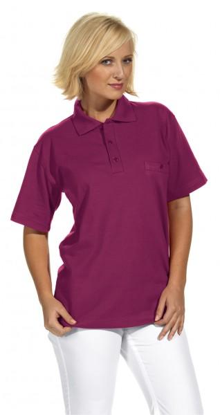 Poloshirt 08/241 von Leiber, für Sie&Ihn, Farbe beere