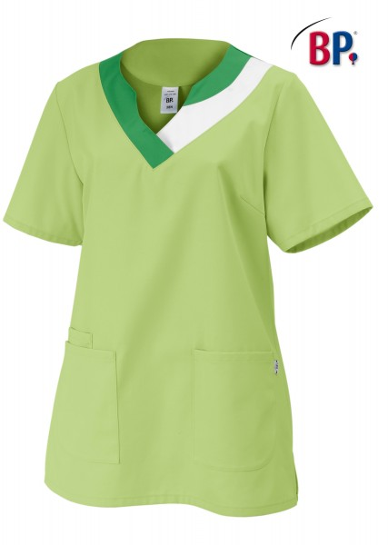 Schlupfkasack BP 1664 für Damen, Mischgewebe Farbe hellgrün