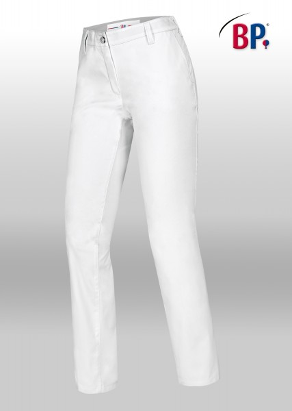 BP Chinohose 1734 für Damen, Farbe weiß