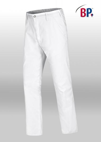 BP-Chinohose 1735 686 21 für Herren in weiß aus Mischgewebe mit Stretchkomfort