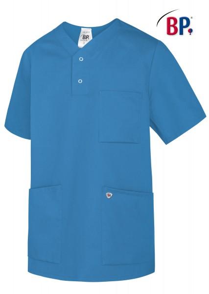 Schlupfkasack BP 1741 für Sie und Ihn, Mischgewebe, Farbe azurblau