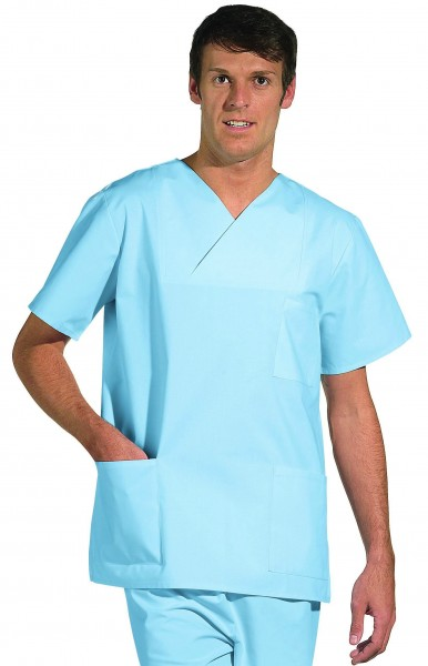 OP-Kasack Leiber 08/769 für Damen und Herren in Farbe hellblau (sterilisierbar)