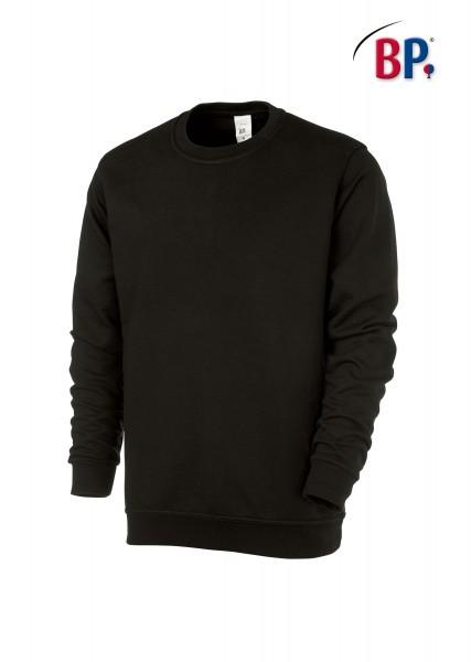 BP Sweatshirt 1623 193 32 unisex in schwarz aus verstärkter Baumwolle