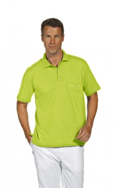 Poloshirt 08/241 von Leiber, für Sie&Ihn, Farbe hellgrün (apfelgrün)