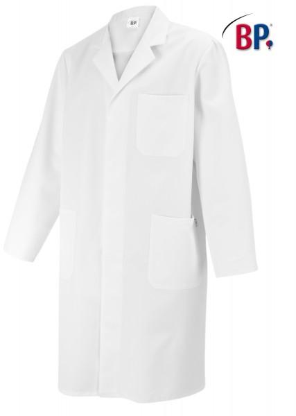 BP 1619 Herrenmantel aus 100 % Baumwolle mit Reverskragen, Farbe weiß
