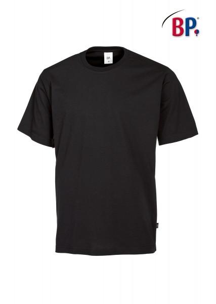 T-Shirt BP 1621 171 32 unisex in schwarz aus strapazierfähigem Mischgewebe