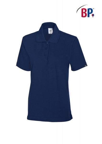 BP Poloshirt 1648 181 110 für Damen in nachtblau aus strapazierfähigem Mischgewebe