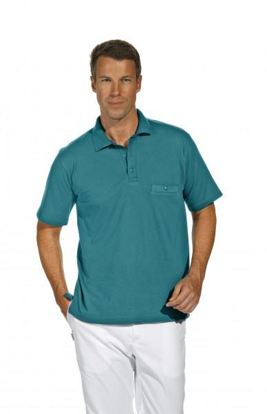Poloshirt 08/241 von Leiber, für Sie&Ihn, Farbe petrol