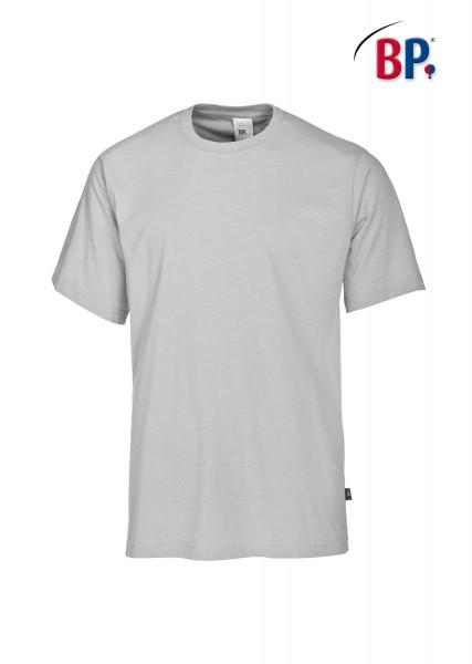 T-Shirt BP 1621 171 51 unisex in hellgrau aus strapazierfähigem Mischgewebe