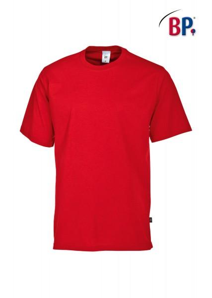 T-Shirt BP 1621 171 81 unisex in rot aus strapazierfähigem Mischgewebe