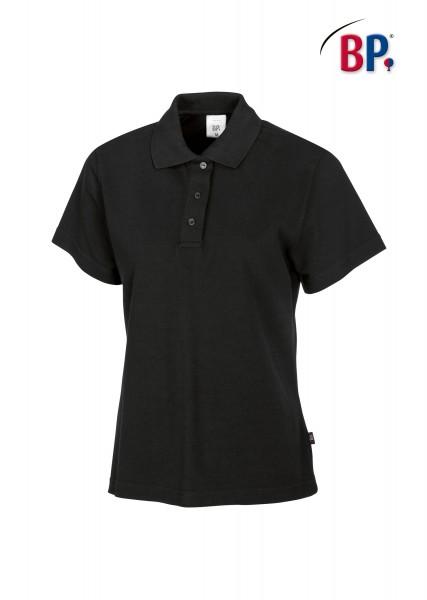 BP Poloshirt 1648 181 32 für Damen in schwarz aus strapazierfähigem Mischgewebe