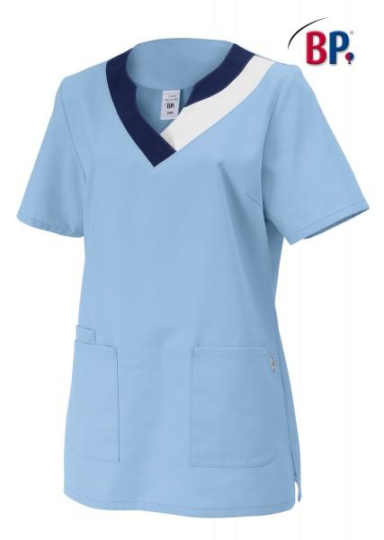 Schlupfkasack BP 1664 für Damen, Mischgewebe, Farbe hellblau