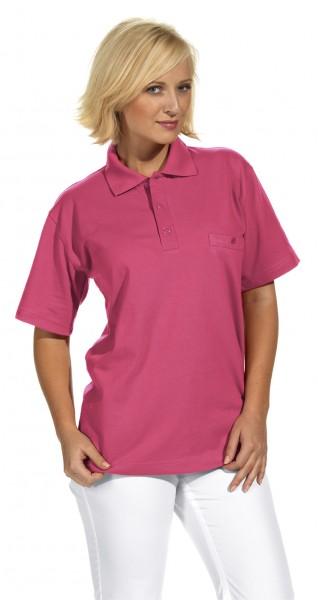 Poloshirt 08/241 von Leiber, für Sie&Ihn, Farbe dunkelrosa