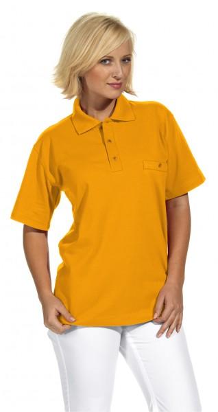Poloshirt 08/241 von Leiber, für Sie&Ihn, Farbe mango