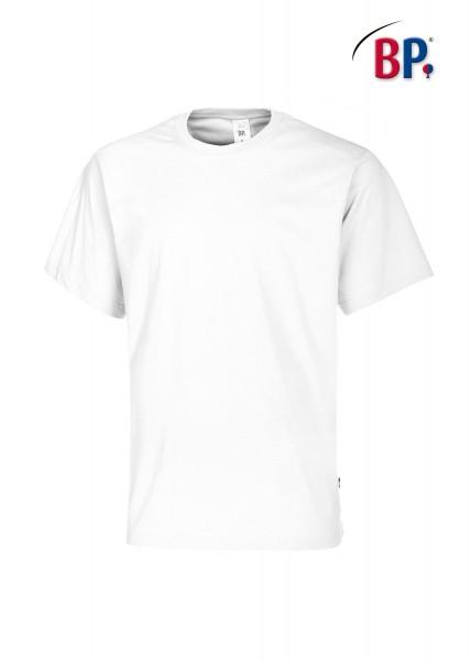 T-Shirt BP 1621 171 21 unisex in weiß aus strapazierfähigem Mischgewebe