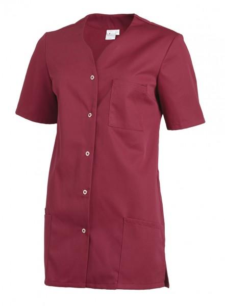 Leiber 08/2549 Damenkasack mit Druckknopfleiste, Farbe beere