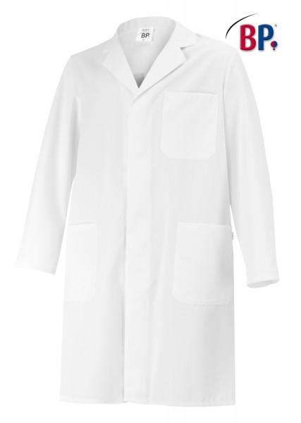 BP 1656 Labormantel für Sie und Ihn aus reiner Baumwolle, Farbe weiß